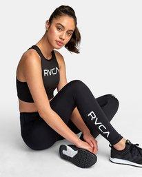 0 RVCA Sport High Rise Legging Black TQ02WRRL RVCA