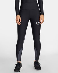 0 COMPRESSION LEGGING Black TQ041RCL RVCA