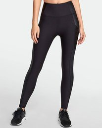 0 MATTE SHINE HIGH RISE LEGGING Black TQ051RMS RVCA