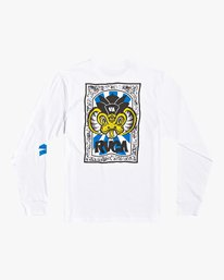 0 Roberto Rodriguez Redondo Roberto - Long Sleeve T-Shirt for Men White U1LSRKRVF0 RVCA