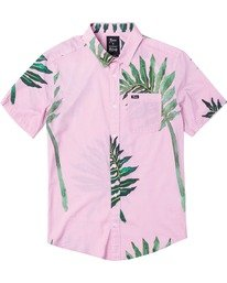 0 Stacey Rozich - Chemise manches courtes pour Homme Rose U1SHRARVF0 RVCA
