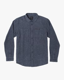 0 Harvest Flannel - Long Sleeve Shirt for Men  U1SHRIRVF0 RVCA