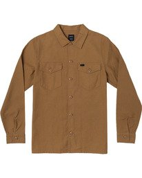 0 Fubar - Overshirt for Men Yellow U1SHRPRVF0 RVCA