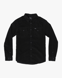 0 Freeman - Long Sleeve Shirt for Men Black U1SHRQRVF0 RVCA