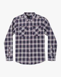 0 Thatll Work Flannel - Long Sleeve Flannel Shirt for Men  U1SHRSRVF0 RVCA