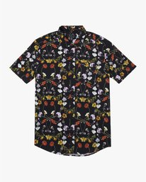 0 Velia Floral - Short Sleeve Shirt for Men  U1SHVDRVF0 RVCA