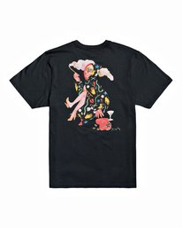 0 Stacey Rozich The Gorgeous Hussy - T-Shirt for Men Black U1SSRGRVF0 RVCA