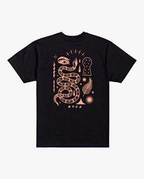 0 Jesse Brown Fauna - T-Shirt for Men Black U1SSRIRVF0 RVCA