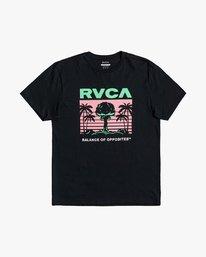 0 Nuclear Paradise - T-Shirt for Men Black U1SSSGRVF0 RVCA