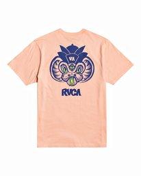 1 Roberto Rodriguez Redondo Snake - T-shirt pour Homme Rose U1SSSQRVF0 RVCA