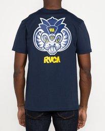 3 Roberto Rodriguez Redondo Snake - T-shirt pour Homme Bleu U1SSSQRVF0 RVCA