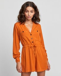 0 Desert Daze - Jumpsuit for Women Orange U3ONRDRVF0 RVCA