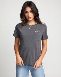 0 Tourist Trap - T-Shirt for Women  U3SSRFRVF0 RVCA