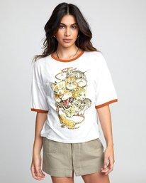 0 Shintaro Kago Cats - T-Shirt for Women White U3SSRGRVF0 RVCA