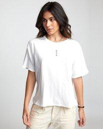0 Lia Kantrowitz Good Vs. Evil - T-Shirt for Women White U3SSRORVF0 RVCA