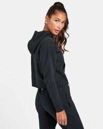 2 VA Sport - Sweat à capuche pour Femme Noir U4HOWARVF0 RVCA