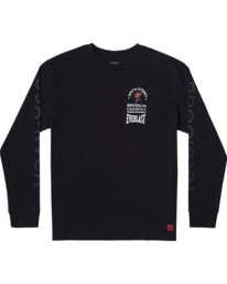 0 Everlast x Smith Street Big Angel - Long Sleeve T-Shirt for Men Black U4LSECRVF0 RVCA