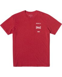 0 Everlast Stack - T-Shirt for Men Red U4SSEARVF0 RVCA