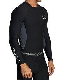 6 VA Sport - Haut de compression manches longues pour Femme Noir U4TPWDRVF0 RVCA