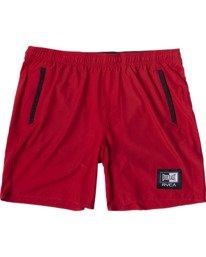 "0 Everlast Yogger IV 17"" - Workout Shorts for Men Red U4WKEARVF0 RVCA"