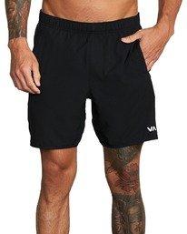 "3 Yogger IV 17"" - Shorts for Men Black U4WKMJRVF0 RVCA"