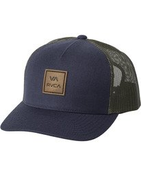 0 VA All The Way - Casquette trucker pour Homme Bleu U5CPSERVF0 RVCA