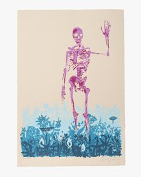 """0 Limited Edition """"Later"""" Print By Sage Vaughn Multicolor UE01XRSV RVCA"""