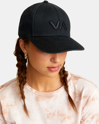 1 VA Baseball Hat Black UVJHA00105 RVCA