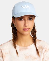 0 VA Baseball Hat Purple UVJHA00105 RVCA