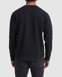 2 Flipped RVCA Crewneck Sweatshirt White UVYFT00143 RVCA