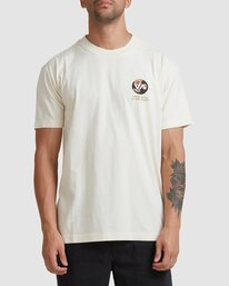 2 VA All Time Short Sleeve Tee White UVYZT00191 RVCA