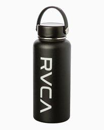 0 Hydroflask 32 Oz Wide Mouth Water Bottle Black UXAMCRH3 RVCA
