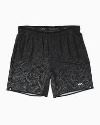 "0 Yogger Stretch 17"" Short Grey V201TRYS RVCA"