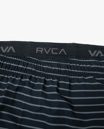"""11 YOGGER STRETCH recycled 17"""" workout SHORT Multicolor V201TRYS RVCA"""
