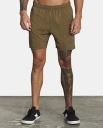 0 TECH STRIKE SHORT Green V2023RTS RVCA