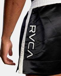 "8 RVCA Muay Thai Gym Shorts 15"" Black V2031RMT RVCA"