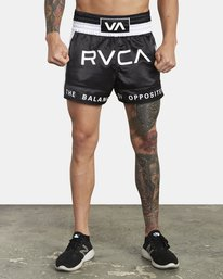"0 RVCA MUAY THAI SHORT 15"" Black V2031RMT RVCA"