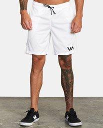 0 VA MESH SHORT White V2033RME RVCA