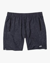 "0 YOGGER IV Recycled 17"" WORKOUT SHORT Grey V2091YGR RVCA"