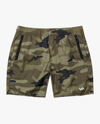 "0 YOGGER IV ATHLETIC SHORTS 17"" Grey V2091YGR RVCA"