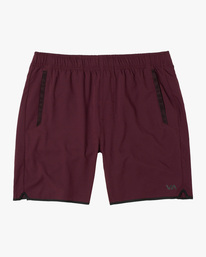 "0 YOGGER IV ATHLETIC SHORTS 17"" Pink V2091YGR RVCA"