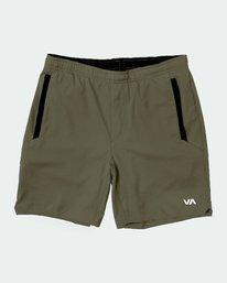 """0 YOGGER IV 17"""" SHORT Green V2091YGR RVCA"""