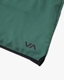 "11 YOGGER IV ATHLETIC SHORTS 17"" Green V2091YGR RVCA"