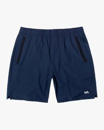 "0 YOGGER 17"" STRETCH WORKOUT SHORT Blue V2103RYS RVCA"