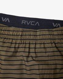 "18 YOGGER 17"" STRETCH WORKOUT SHORT Green V2103RYS RVCA"