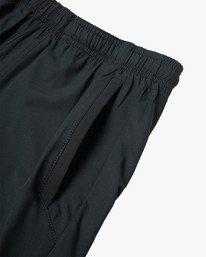 "15 Yogger Lined Athletic Shorts 17"" Black V2113RYL RVCA"