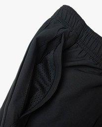 "18 Yogger Lined Athletic Shorts 17"" Black V2113RYL RVCA"