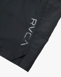 "5 YOGGER FLEX 19"" Short Black V2123RYA RVCA"