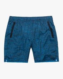 "0 Yogger IV Athletic Shorts 17"" Blue V2133RYG RVCA"