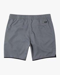 """1 Yogger IV Athletic Shorts 17"""" Grey V2133RYG RVCA"""